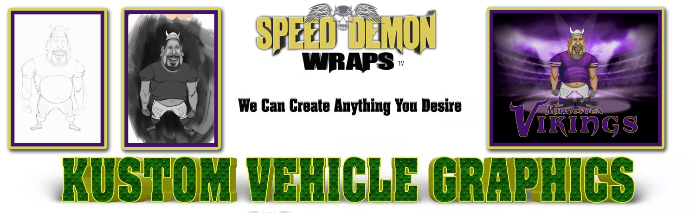 Caricature Vehicle Graphics