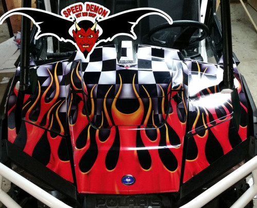 Racing Wrap