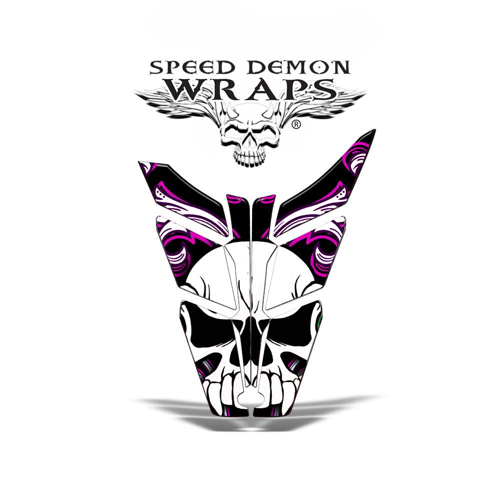 PR0 RMK Rush Vinyl HOOD GRAPHICS WRAP DECAL Pink Skullen